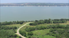 Lewis And Clark Lake Stock Footage
