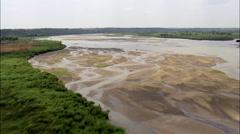 Niobrara River And Verdigre Creek Stock Footage