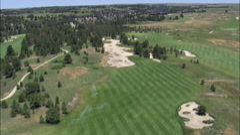 Prairie Club Golf Course Stock Footage