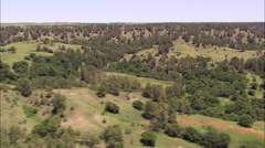 Escarpment In Fort Niobrara National Wildlife Refuge Stock Footage