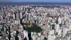 Torre Do Banespa Stock Footage