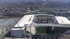 Estadio De Sao Paulo Stock Footage