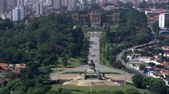 Paulista Museum Stock Footage