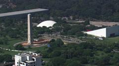 Parque Ibirapuera Stock Footage