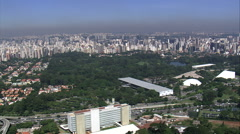 Sao Paulo Art Biennial Building Stock Footage