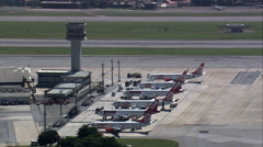 Congonhas Airport Stock Footage