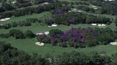 Sao Paulo Golf Club Stock Footage