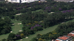 Sao Paulo Golf Club Stock Footage