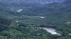 Rio Ribeira De Iguape Stock Footage