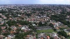 Curitiba aerial Stock Footage