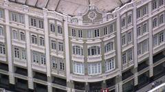 Palacio Avenida Stock Footage