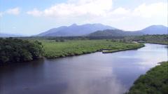 Parque Estadual Lagmar De Cananeia Stock Footage