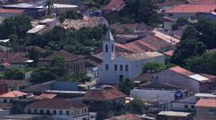 Iguape aerial Stock Footage