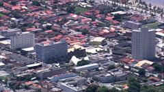 Peruibe aerial Stock Footage
