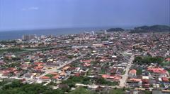 Itanhaem aerial Stock Footage