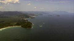 Coastline, Beaches And Islands Stock Footage