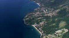 Ilhabela aerial Stock Footage