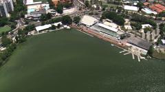 Lagoa Rodrigo De Freitas Stock Footage