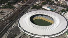 Estadio Do Maracana And Ginasio Do Maracanazinho Stock Footage