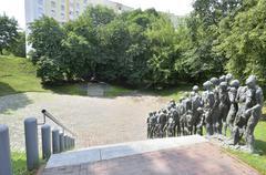 Minsk Yama Holocaust Memorial Stock Photos