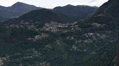 Villages And Towns In The Mountains Stock Footage