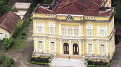 Petropolis aerial Stock Footage