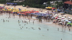 Praia De Geriba Stock Footage