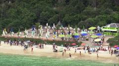 Praia Do Forno Stock Footage