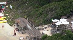 Praia Dos Anjos At Arraial Do Cabo Stock Footage