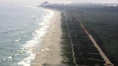 Beach Near Saquarema Stock Footage