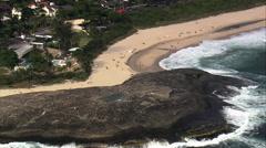 Itacoatiara Beach Stock Footage