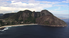 Itacoatiara aerial Stock Footage