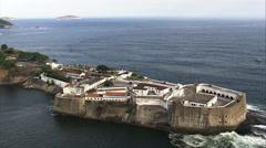 Fortaleza De Santa Cruz-Jurujuba Stock Footage