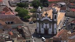 Igreja Nossa Senhora Do Carmo Stock Footage