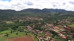 Tiradentes aerial Stock Footage