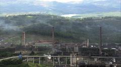 President Arthur Bernardes Steel Plant Stock Footage