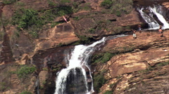 Cachoeira Chica Dona Stock Footage