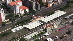 Belo Horizonte Railway Station Stock Footage