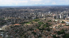 Belo Horizonte In Wide Shots Stock Footage
