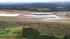 Tancredo Neves International Airport Stock Footage