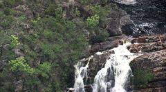 Small Waterfalls North Of Belo Horizonte Stock Footage