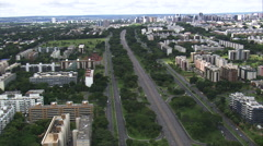 Brasilia North Wing Stock Footage