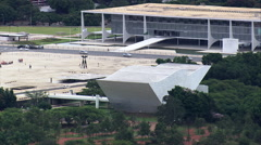 Planalto Palace Stock Footage