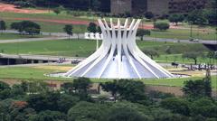 Brasilia aerial Stock Footage