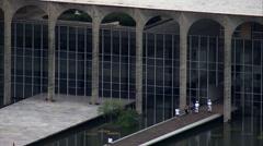 Palacio Do Jaburu Stock Footage