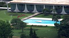 Palacio Da Alvorada Stock Footage