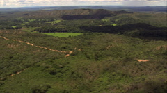 Passing Over Wooded Hills, Minas Gerais State Stock Footage
