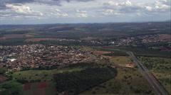 Paraopeba aerial Stock Footage