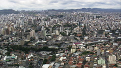 Passing Over Pampulha Stock Footage