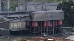 Industrial Plant Stock Footage